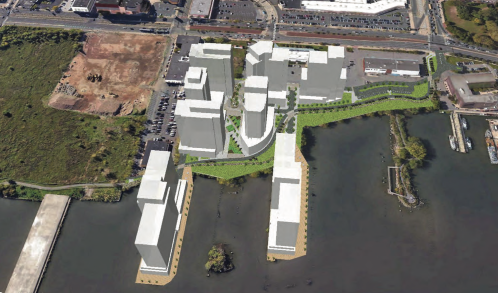 Liberty on the river site plan 1