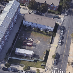 300 christian st vacant lot aerial