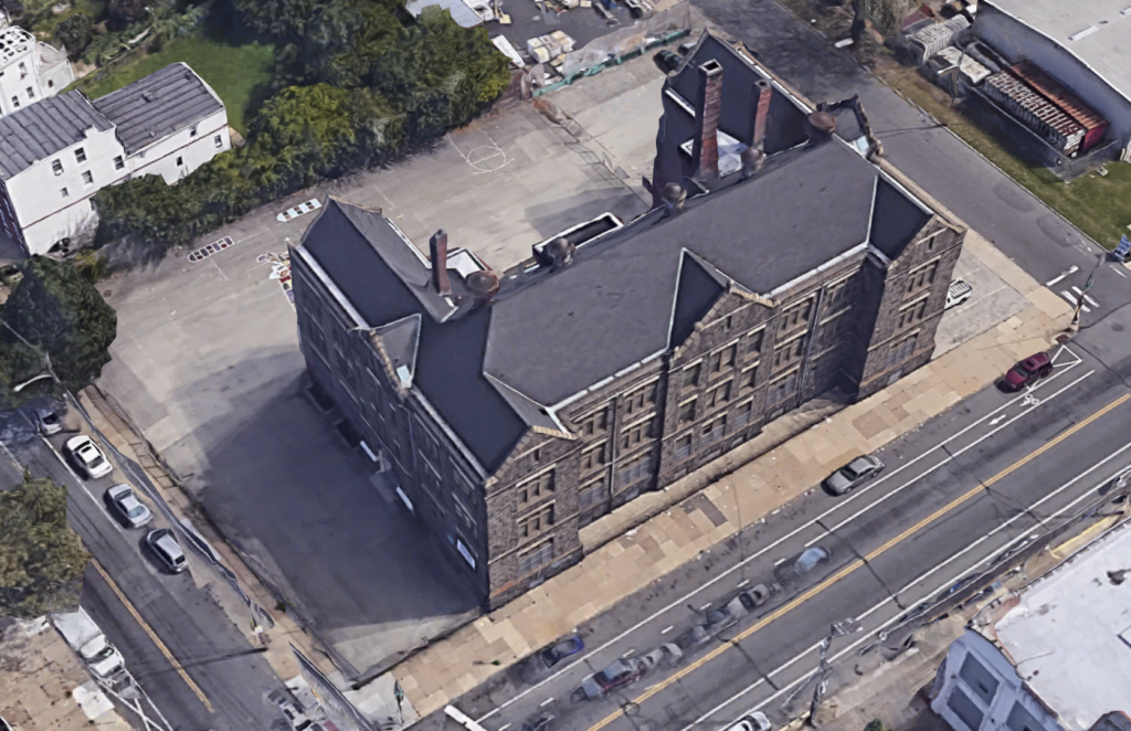 Harrowgate-school-conversion-aerial-view