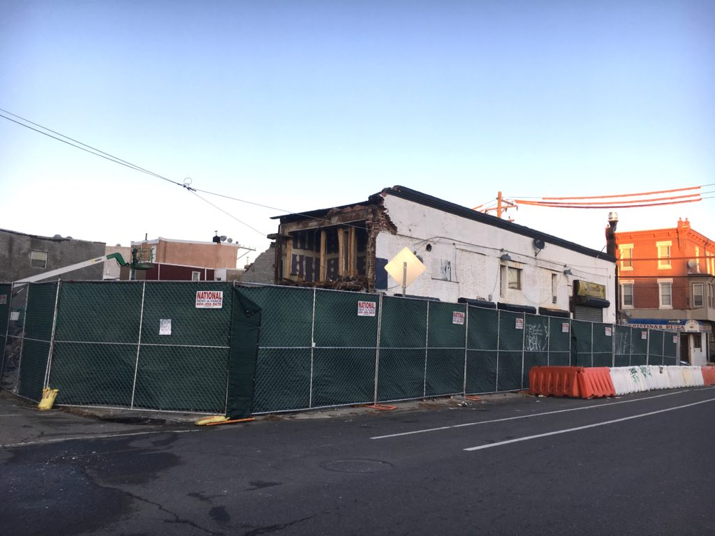 171 W. Berks St. demolition