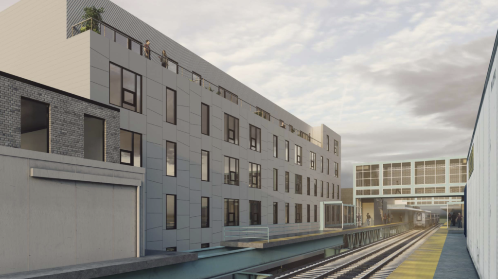 Rendering of the project at 1828-42 N. Front St.