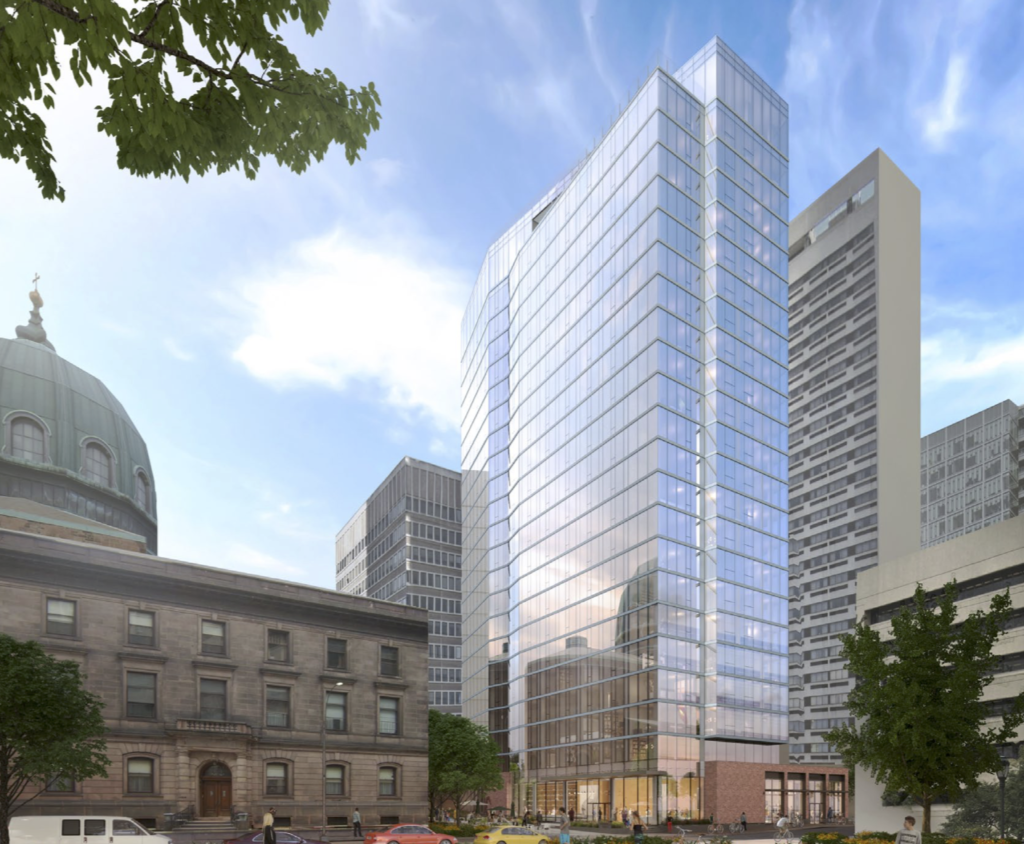Cathedral Place rendering