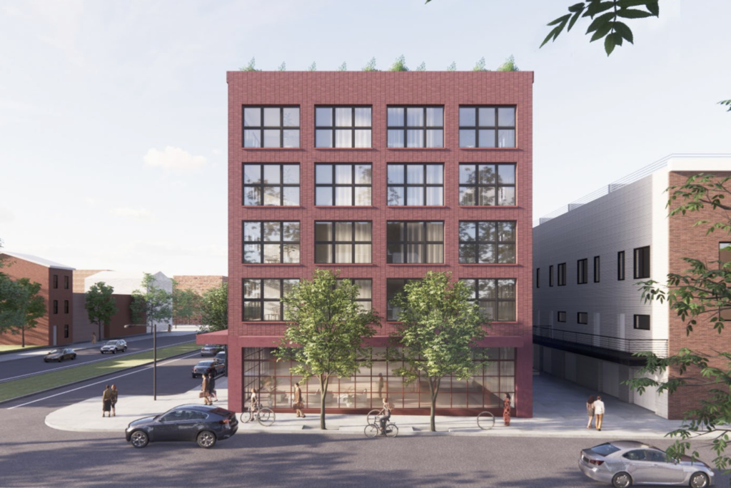 Rendering of 1525 N. American St.