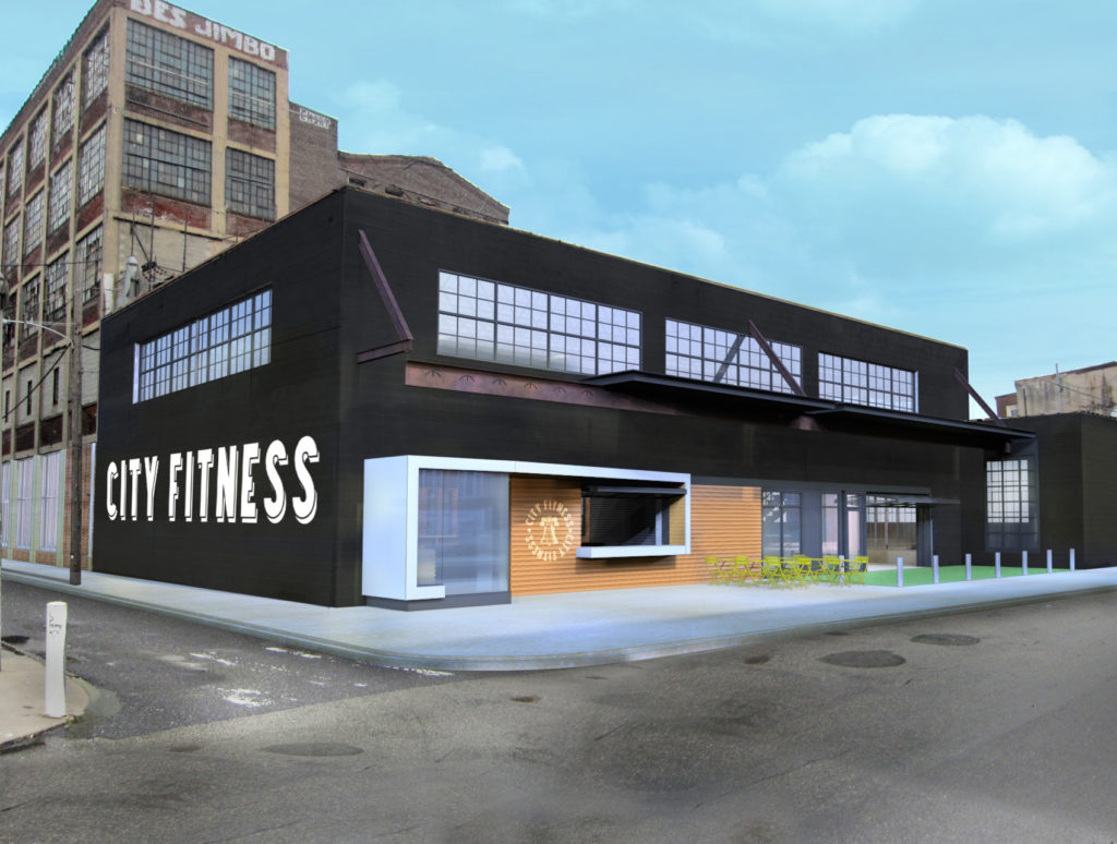 Proposed location of Fishtown City Fitness circa 2013