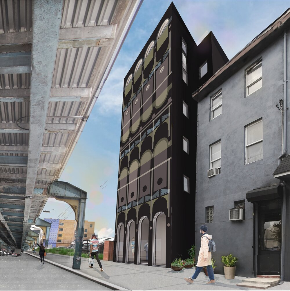 Project Rendering - Front St. Facade