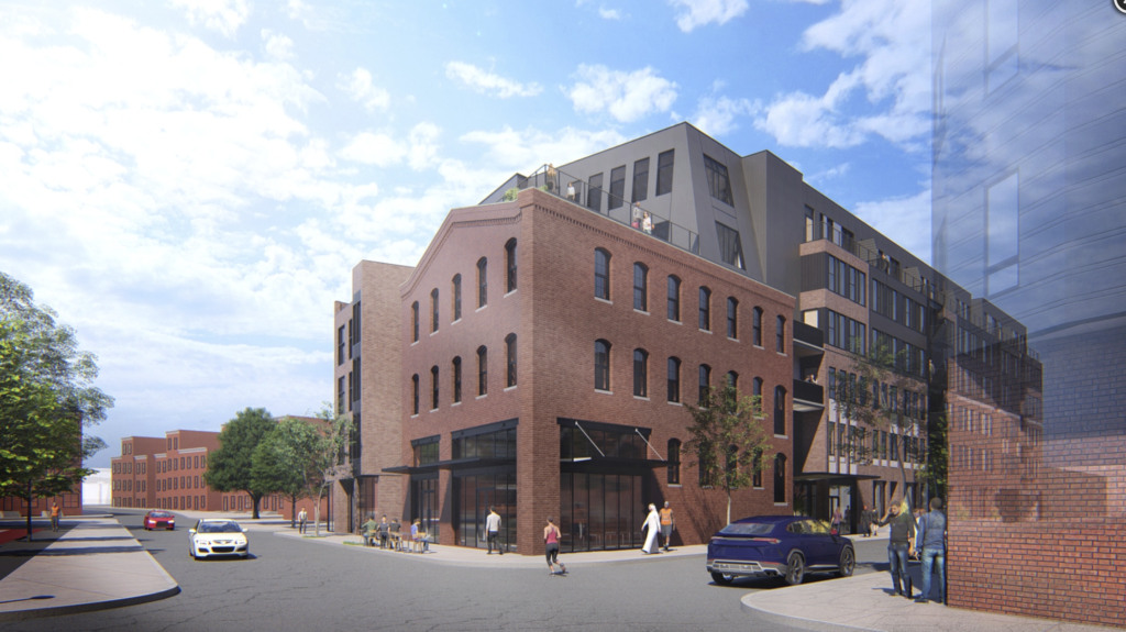 1700 N Howard St Rendering