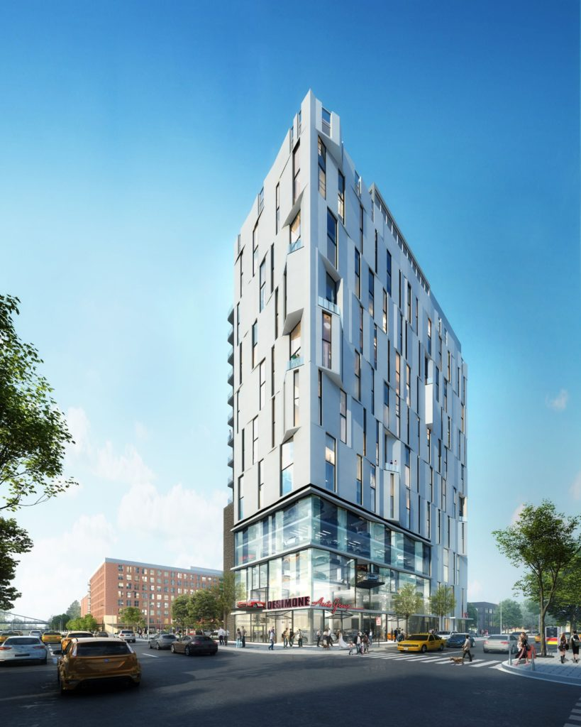 Rendering of 626 Delaware Ave.