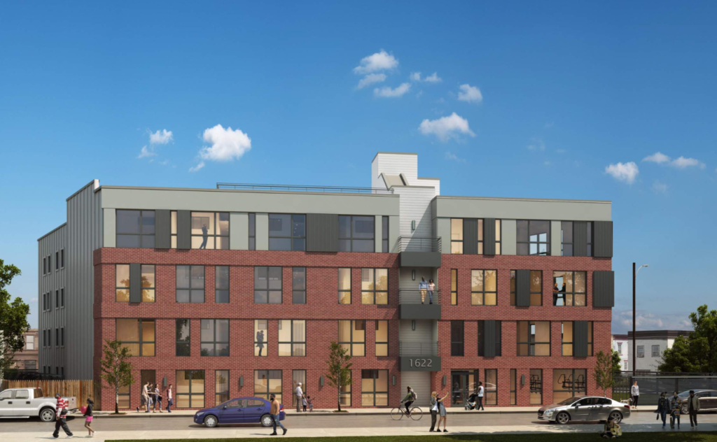 1622-40 Point Breeze Ave. rendering