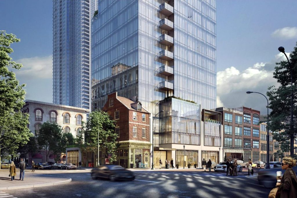 Jewelers Row Tower Toll Brothers Rendering