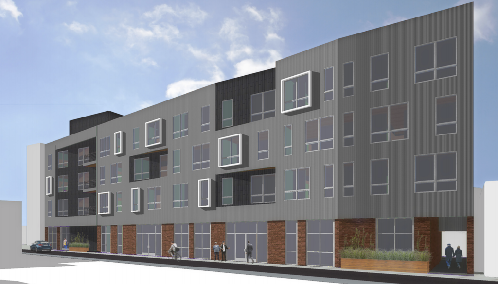 1324-28 Frankford Ave. - Rear Building Rendering