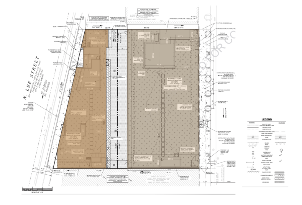 1324-28 Frankford Ave. Site Plan