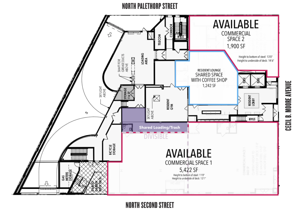 1701 N. 2nd St. - Floorplan
