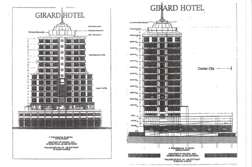 701 E Girard Hotel Proposal with Rotating Olive Garden