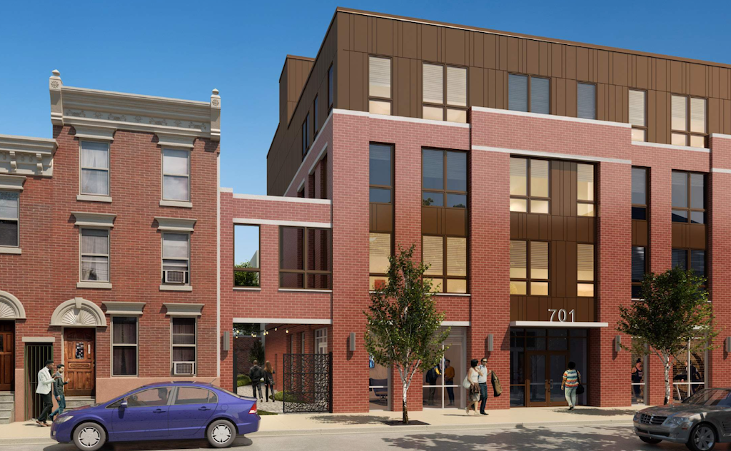 701 E. Girard Rendering - JKRP Architects