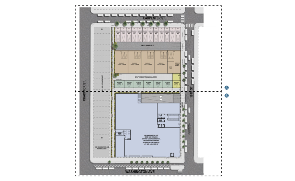 1600 Carpenter Site Plan