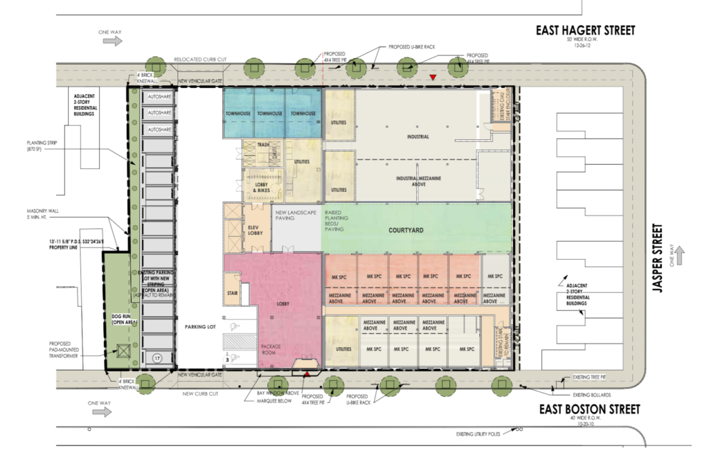 Comly Commons Site Plan