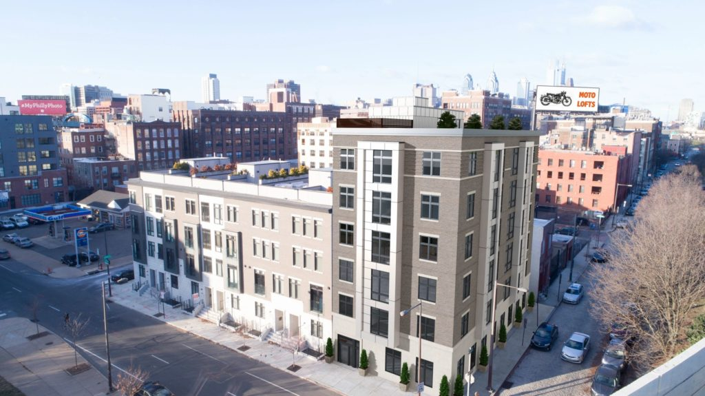 Rendering of The Edison at 312 N. 2nd St.