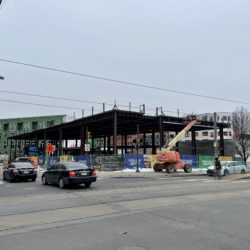 North Liberties Triangle under construction