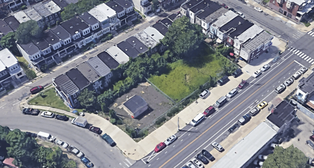5300 Whitby Ave vacant lot
