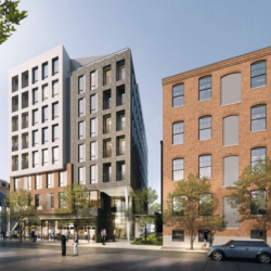 31 E. Columbia Avenue Rendering - Sitio Architecture + Urbanism