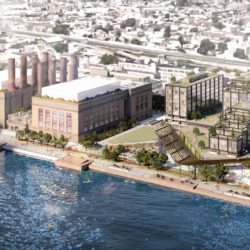 Rendering of the redevelopment of the Delaware Generating Station