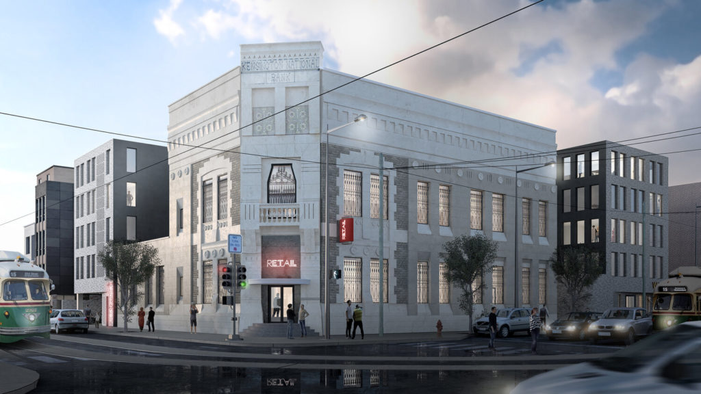 Kensington National Bank Rendering - OOMBRA Architects